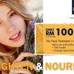 bluunis facial treatment promotion